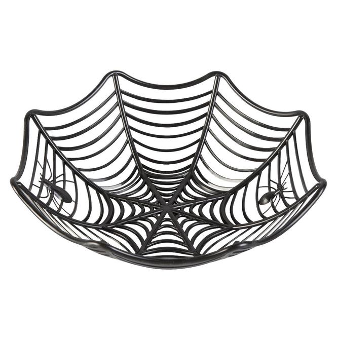 Dekokorb - Spinnennetz - Ø = ca. 27 cm