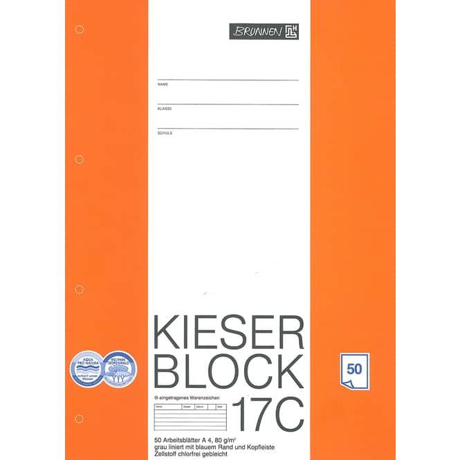 Kieserblock Nr.17 C, 4. Klasse