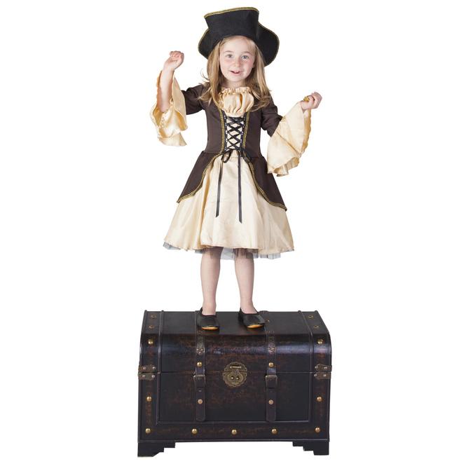 Kostüm - Piratenprinzessin - für Kinder - 2-teilig