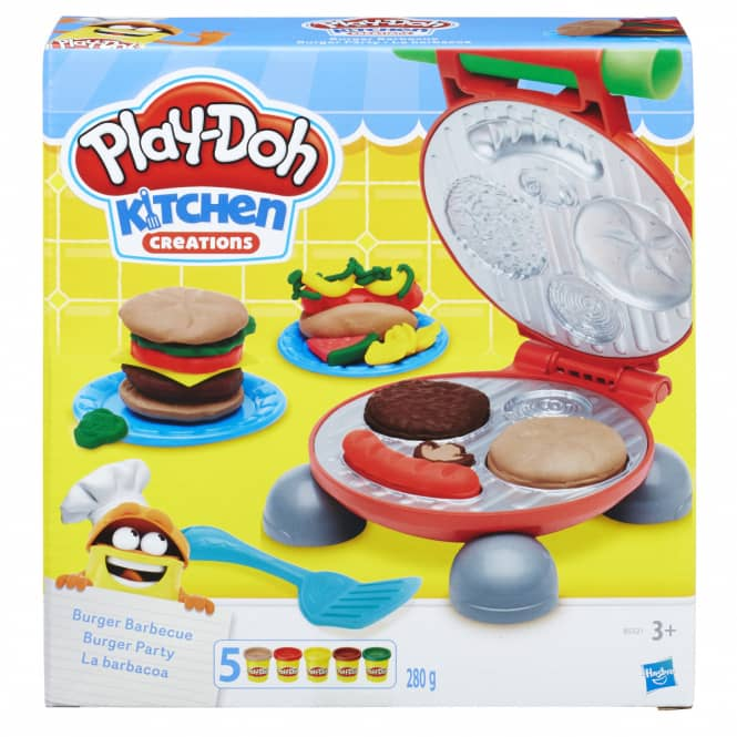 Play-Doh Kitchen - Burger Party - Knetset