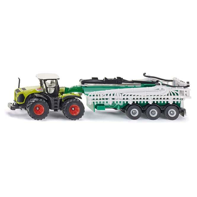 Siku Farmer 1827 - Traktor Claas Xerion mit Fasswagen - 1:87