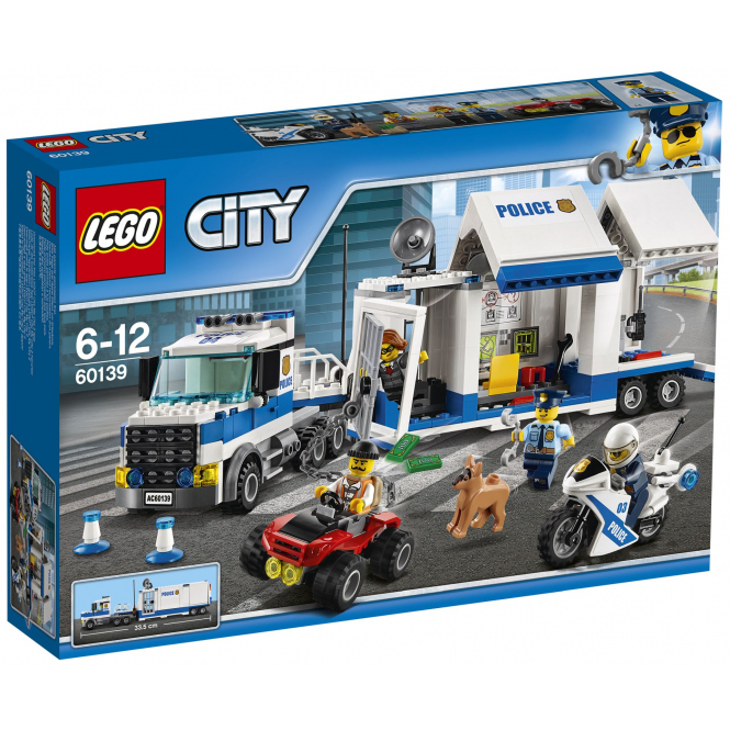 LEGO® City Polizei 60139 - Mobile Einsatzzentrale