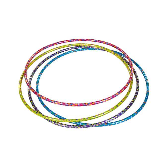 Besttoy - Fun Hoop Reifen mit Sternen - Durchmesser 65 cm - 1 Stück