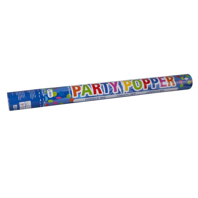 Konfettikanone - Party Popper - ca. 57 cm - bunt