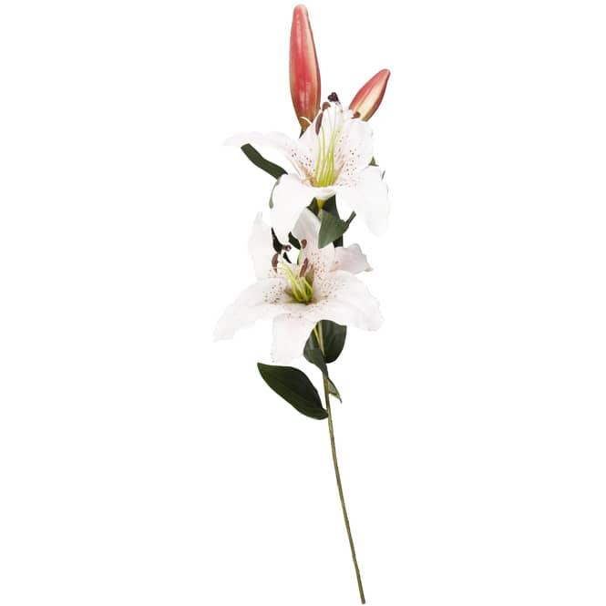 Lilie - ca. 84 cm - weiß