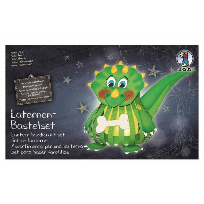 Laternen-Bastelset Dino