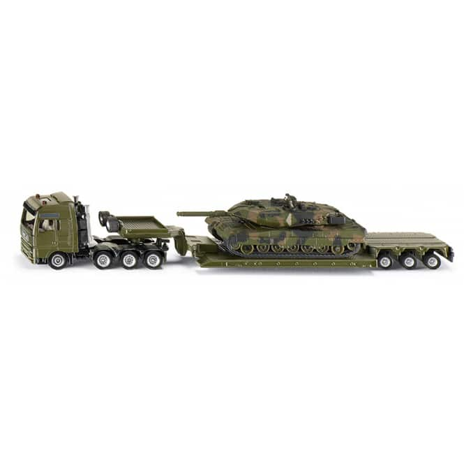 Siku Super 1872 -  Tieflader mit Panzer - 1:87