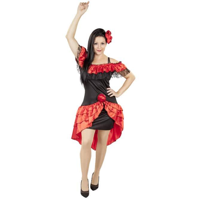 Kostüm - Spanierin - für Erwachsene - 2-teilig - verschiedene Größen