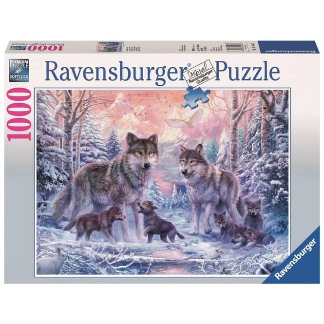 Puzzle - Arktische Wölfe - 1000 Teile