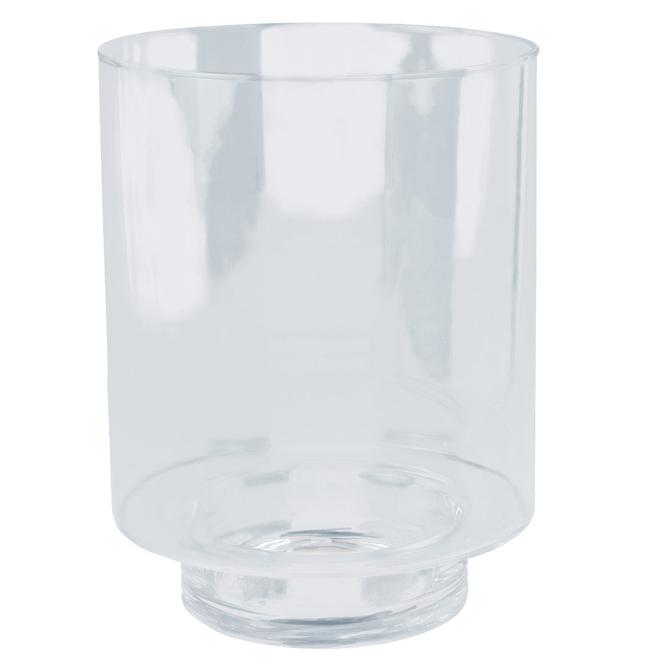 Windlicht - aus Glas - ca. 25 cm