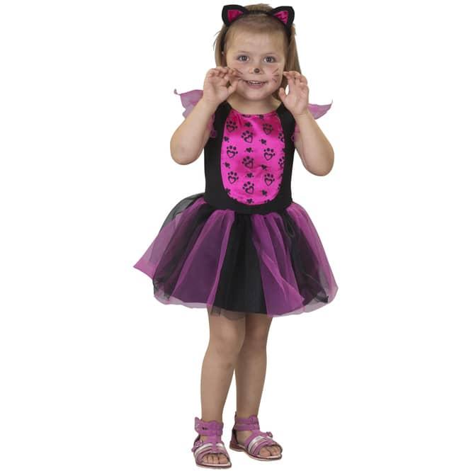 Kostüm - Kleine Katze - für Kinder - 2-teilig - verschiedene Größen
