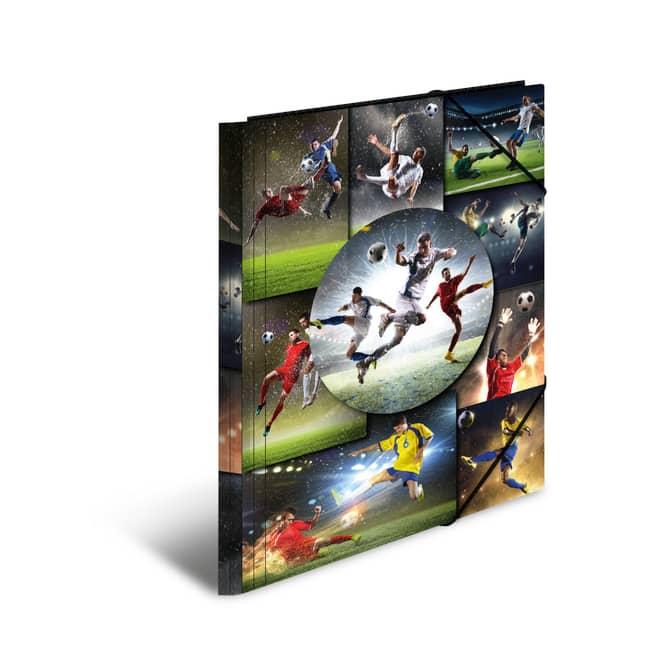 Eckspanner DIN A 4  - Fußball