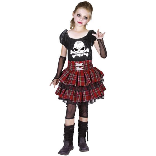 Kostüm - Punk Girl - für Kinder - verschiedene Größen