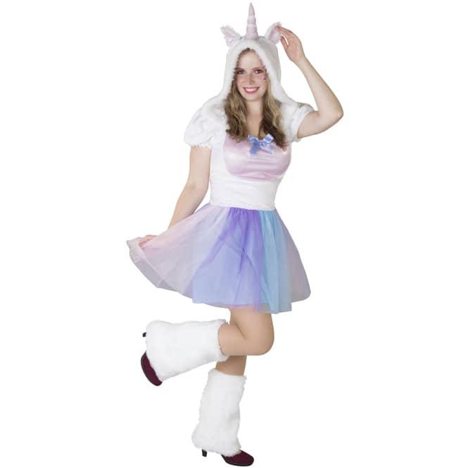 Kostüm - Einhorn - für Erwachsene - 2-teilig - verschiedene Größen