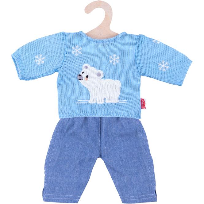 Pullover und Jeans für Puppen Größe 35-45 cm