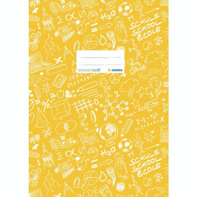 Heftschoner A4 Schoolydoo von Herma verschiedene Farben gelb