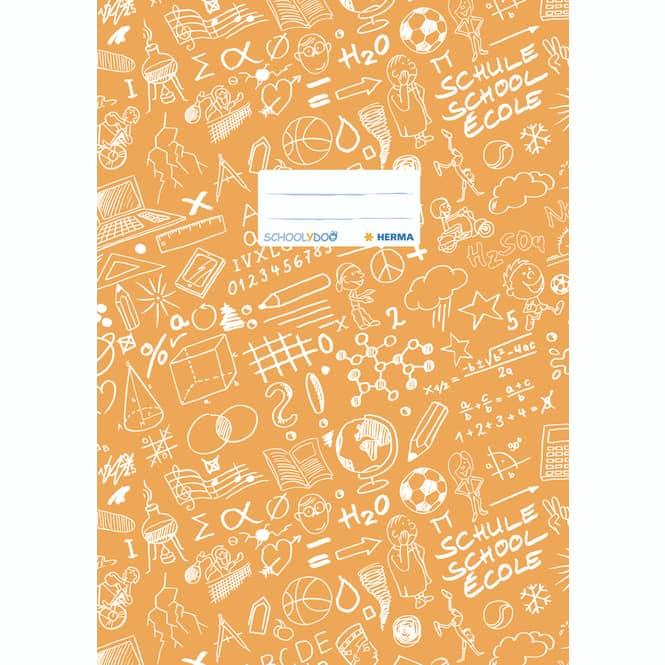 Heftschoner A4 Schoolydoo von Herma verschiedene Farben orange
