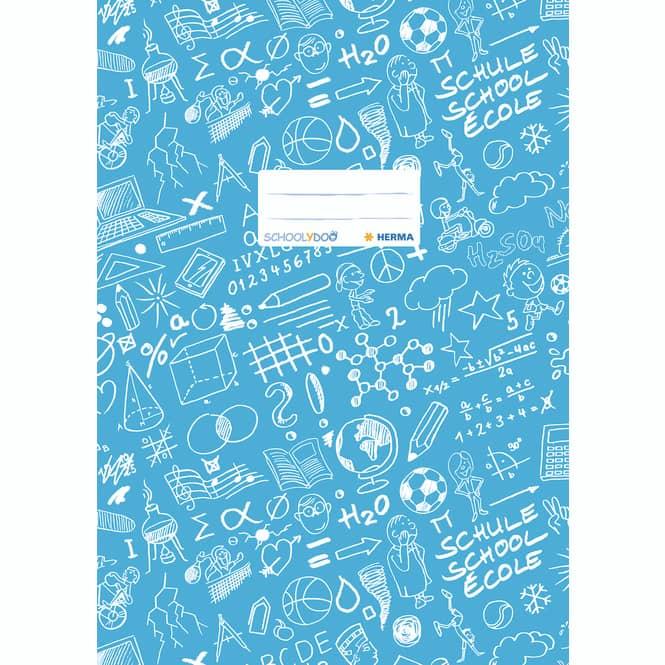 Heftschoner A4 Schoolydoo von Herma verschiedene Farben Hell blau