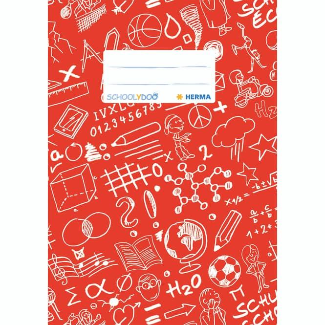 Herma Heftschoner DIN A5 in rot oder blau rot