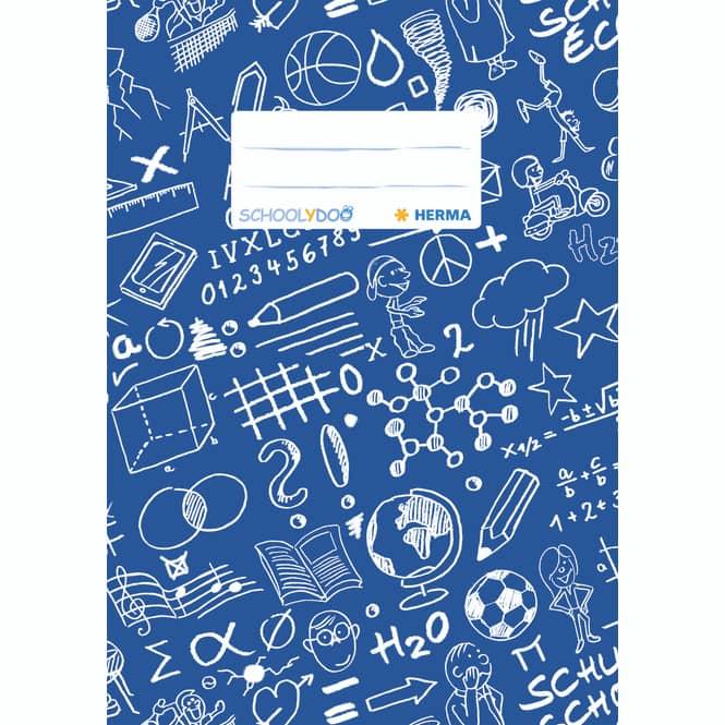 Herma Heftschoner DIN A5 in rot oder blau blau