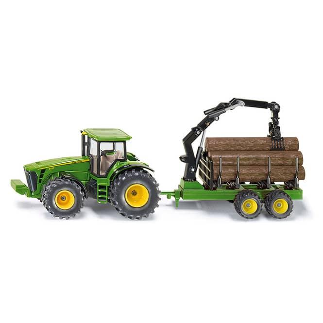 Siku Farmer 1954 - Traktor mit Forstanhänger - 1:50