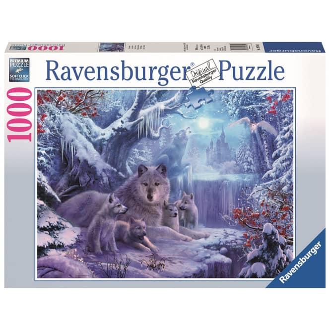 Puzzle - Winterwölfe - 1000 Teile - Ravensburger