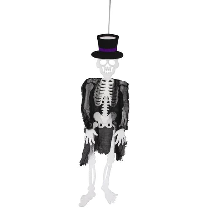 Dekohänger - Skelett - 23 x 2 x 96 cm