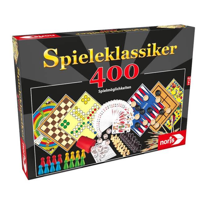 Spieleklassiker 400 Spielmöglichkeiten - Noris