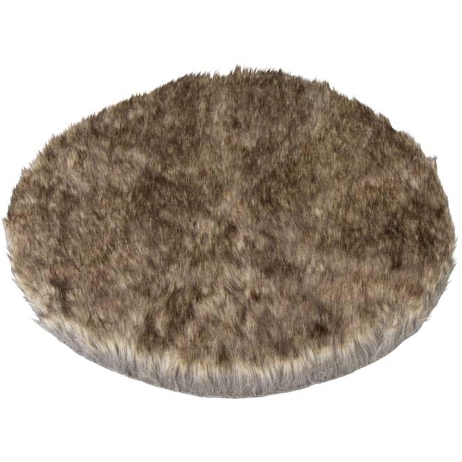 Platzdeckchen - braun - Ø = 40 cm
