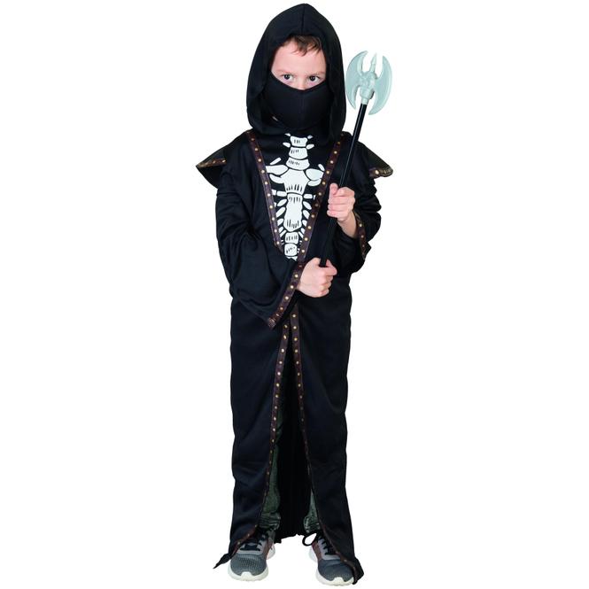 Kostüm - Skelett-Dämon - für Kinder - 2-teilig - Größe 158/164