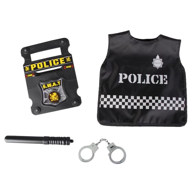 Kostümset - Polizei, 4-teilig - für Kinder