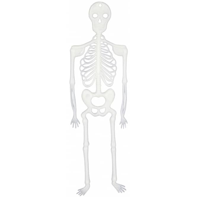 Skelette - Glow in the dark - ca. 30 cm hoch - 4 Stück