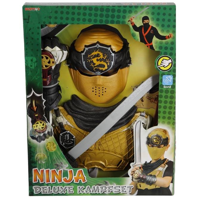 Faschingsset - Ninja Deluxe - 4-teilig