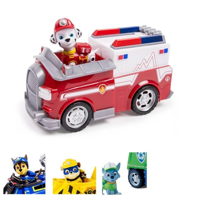 Paw Patrol - Basis Fahrzeug mit Figur - verschiedene Sets