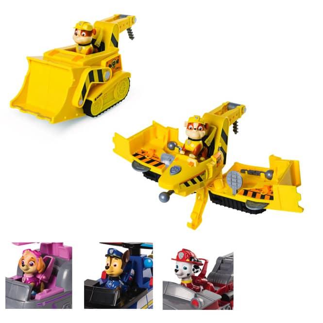 Paw Patrol - Flip & Fly Fahrzeug mit Figur - verschiedene Sets