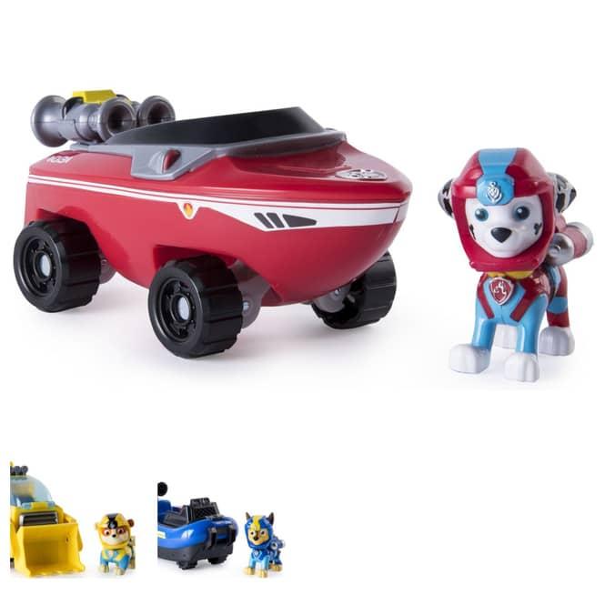Paw Patrol - Sea Patrol Fahrzeug mit Figur - verschiedene Sets
