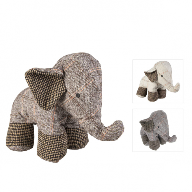 Türstopper - Elefant - ca. 28 x 17 x 23 cm - 1 Stück