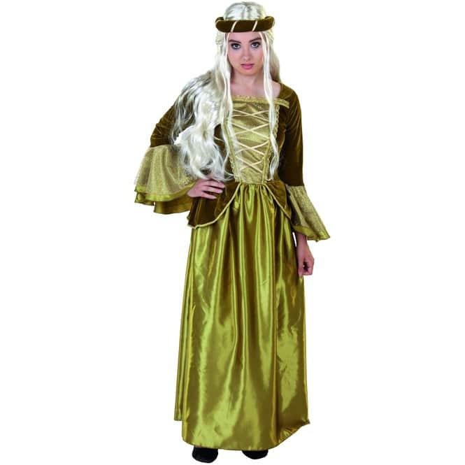 Kostüm - Märchenprinzessin - 2-teilig - für Erwachsene - verschiedene Größen