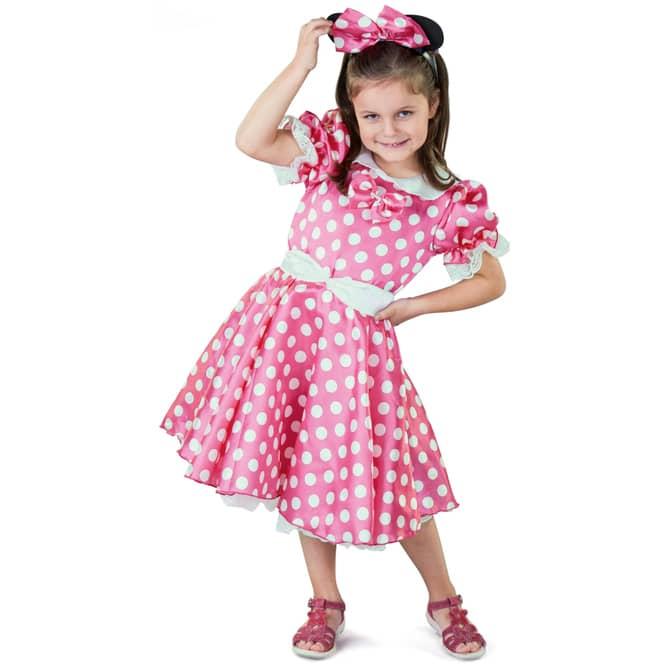 Kostüm - Kleine Maus - für Kinder - 3-teilig - verschiedene Größen