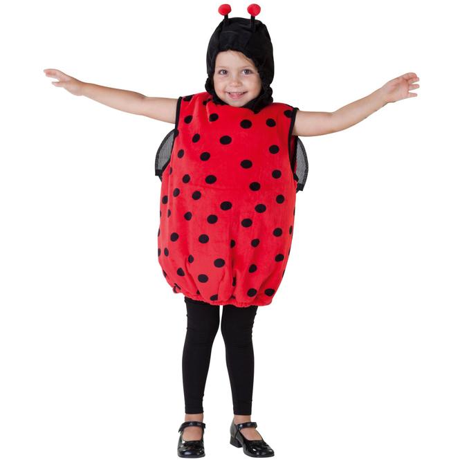 Kostüm - Kleiner Marienkäfer - für Kinder - Größe 98/104
