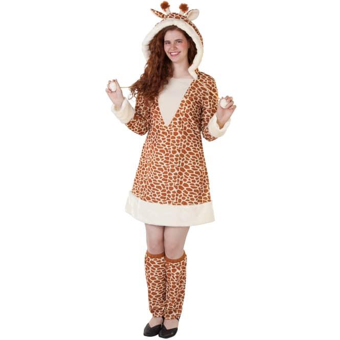 Kostüm - Giraffe - für Erwachsene - 2-teilig - verschiedene Größen