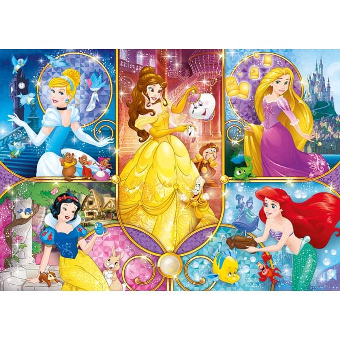 Disney Princess - Puzzle - 104 Teile - Clementoni