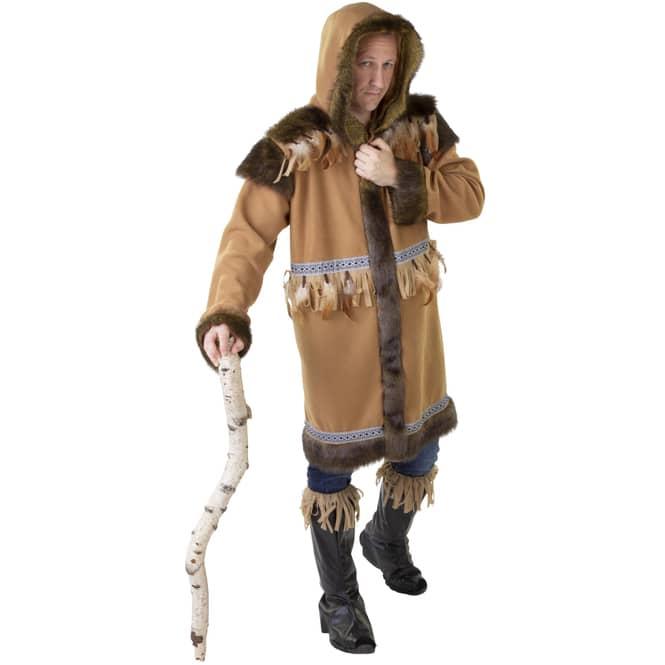Kostüm - Eskimo - für Erwachsene - 2-teilig - verschiedene Größen