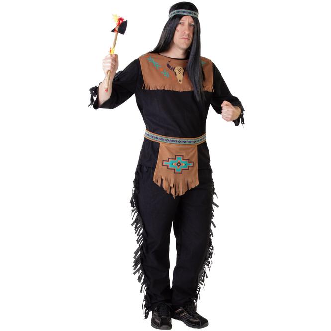 Kostüm - Indianer - für Erwachsene - 3-teilig - verschiedene Größen