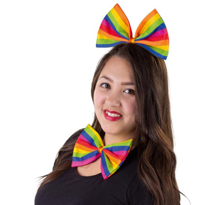 Fliege - Regenbogen - für Erwachsene