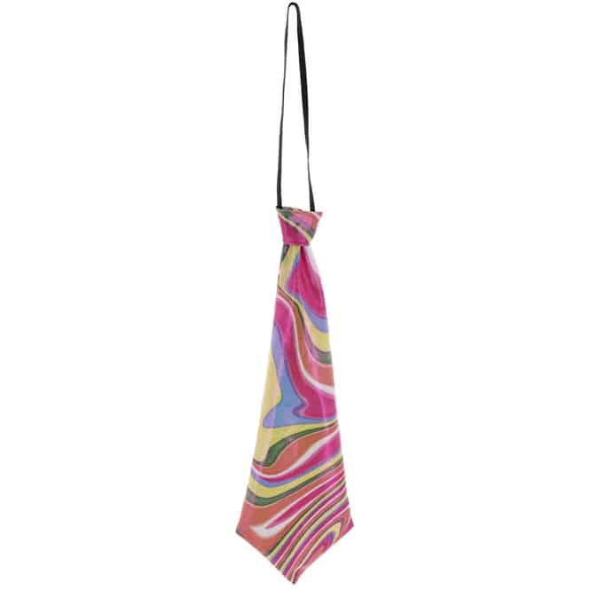 Krawatte - Regenbogen - für Erwachsene