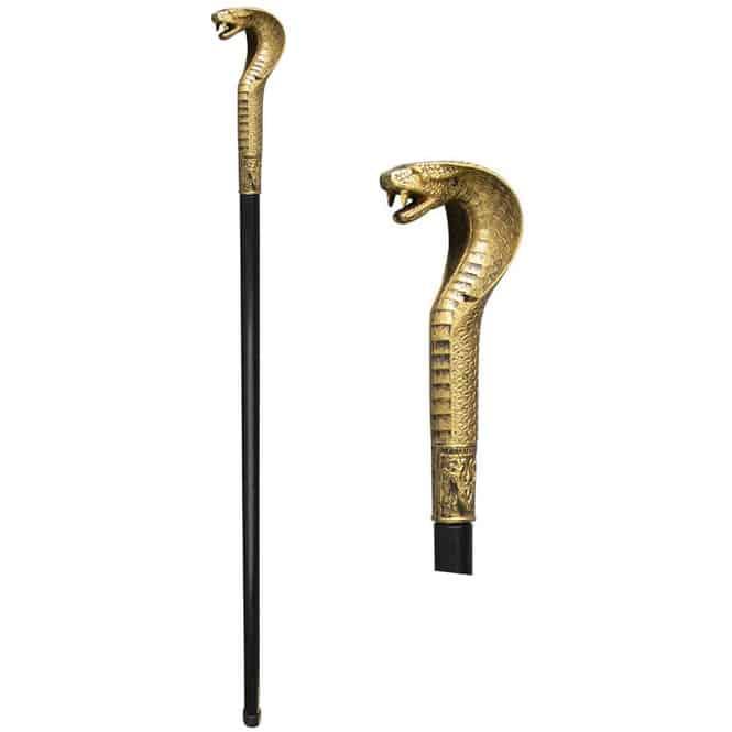 Zepter im Schlangendesign - 94 cm