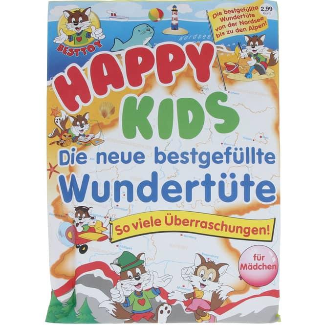 Wundertüte - Happy Kids - für Mädchen