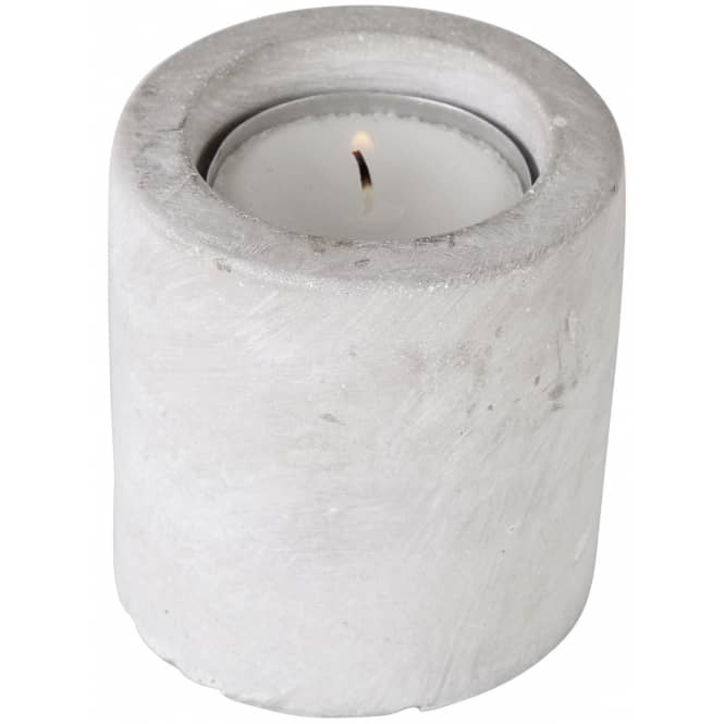 Kerzenhalter - aus Zement - 8 x 6 cm