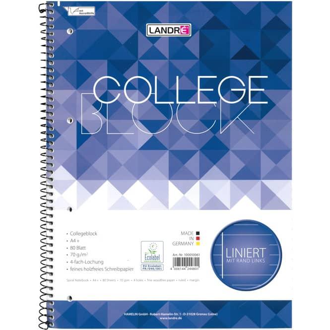 Collegeblock DIN A4 - Lineatur 27-  liniert